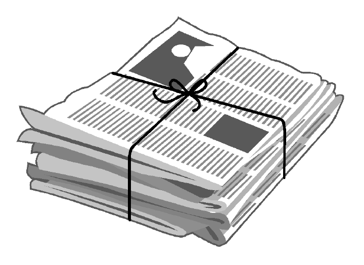 newspaper pictures clip art - photo #28